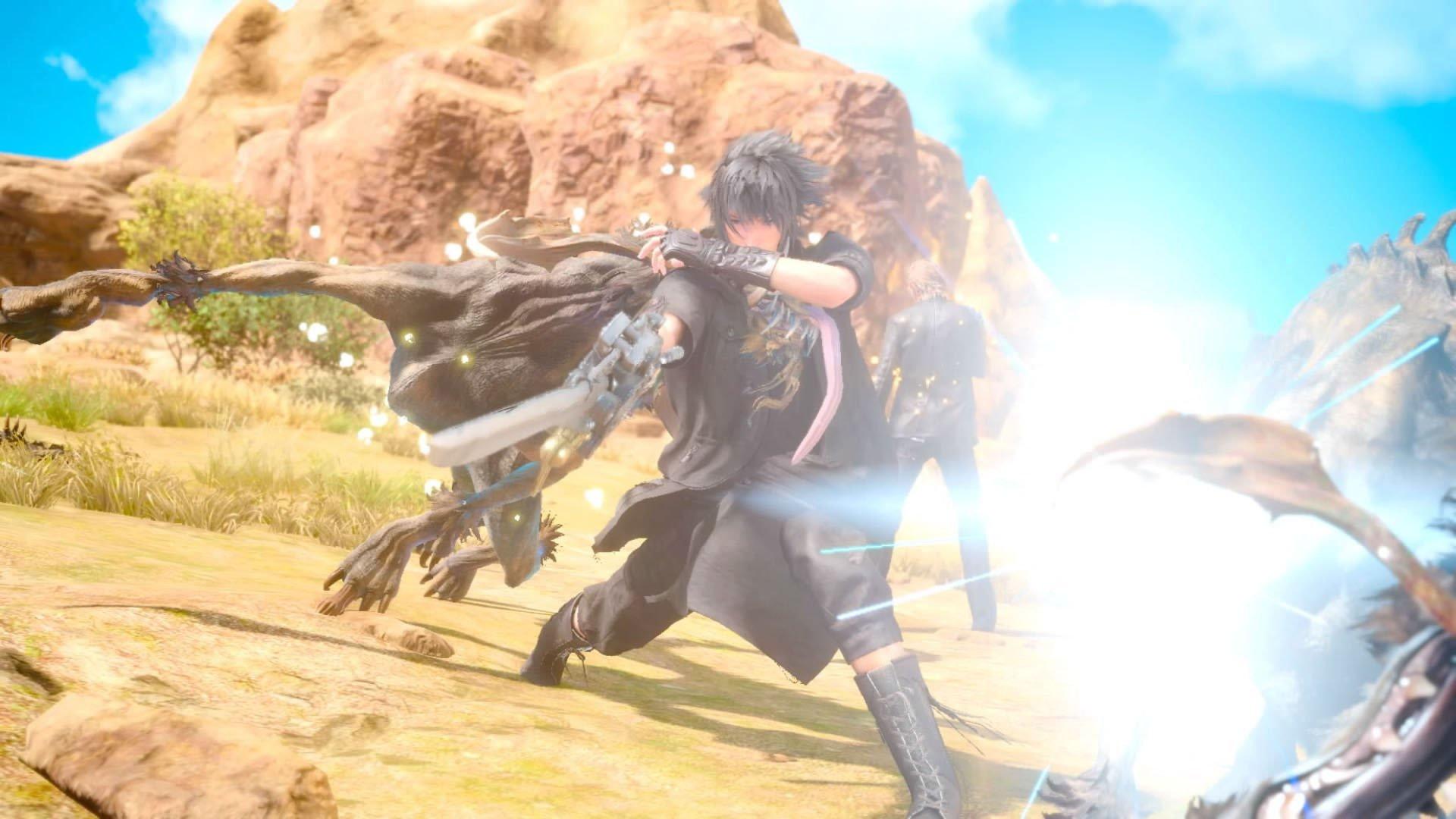 Final Fantasy XV : la version définitive (gold) en vidéos